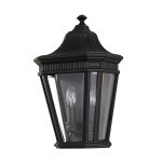 Elstead Cotswold Lane Black Flush Wall Light
